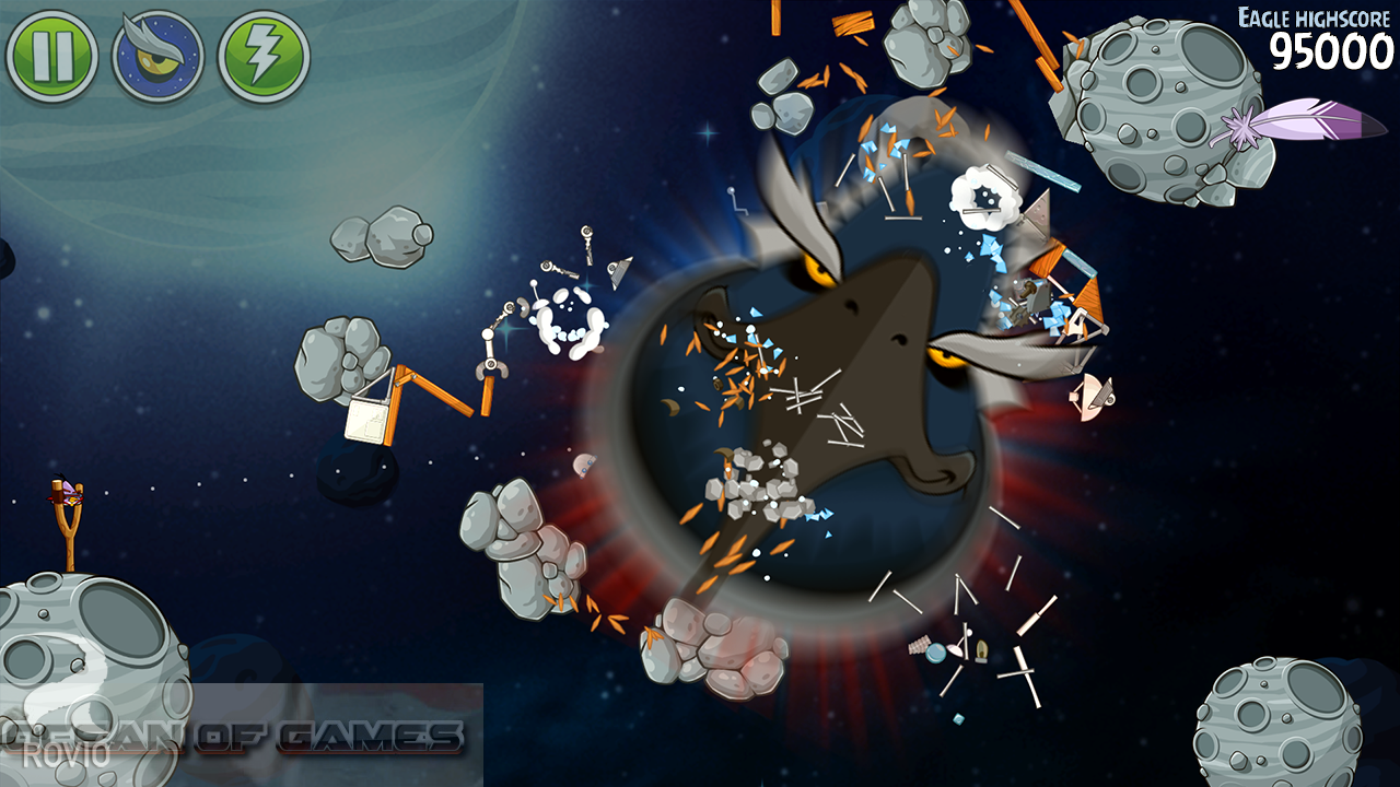 Angry Birds Space Features