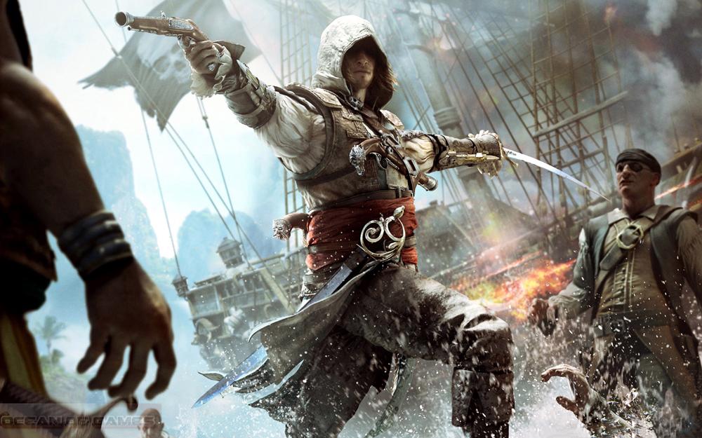 Assassins Creed IV Black Flag Setup Download For Free