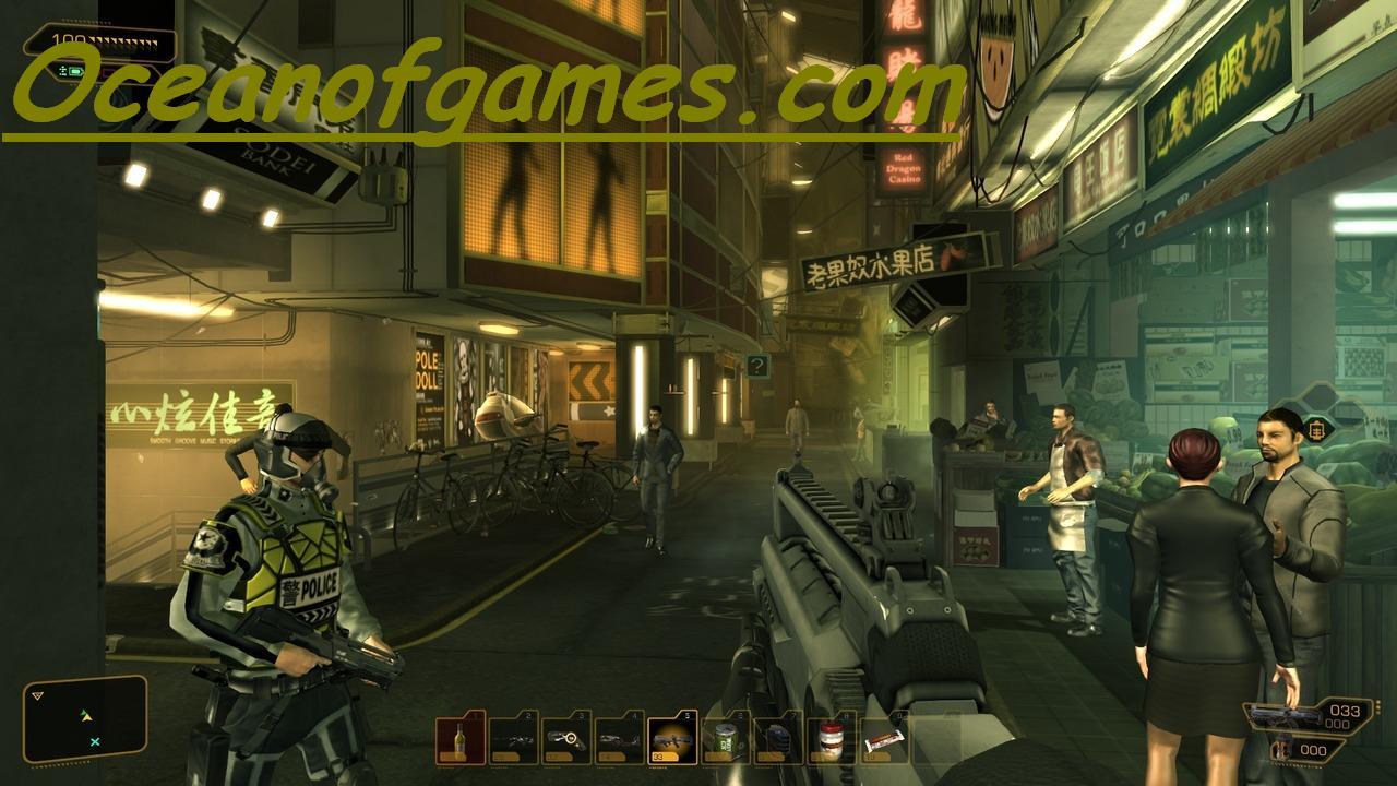Deus Ex Human Revolution free