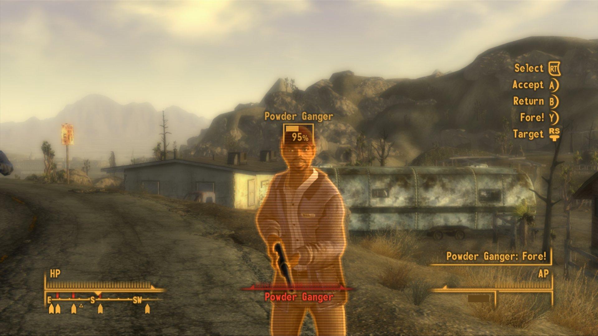 Fallout New Vegas Featuers