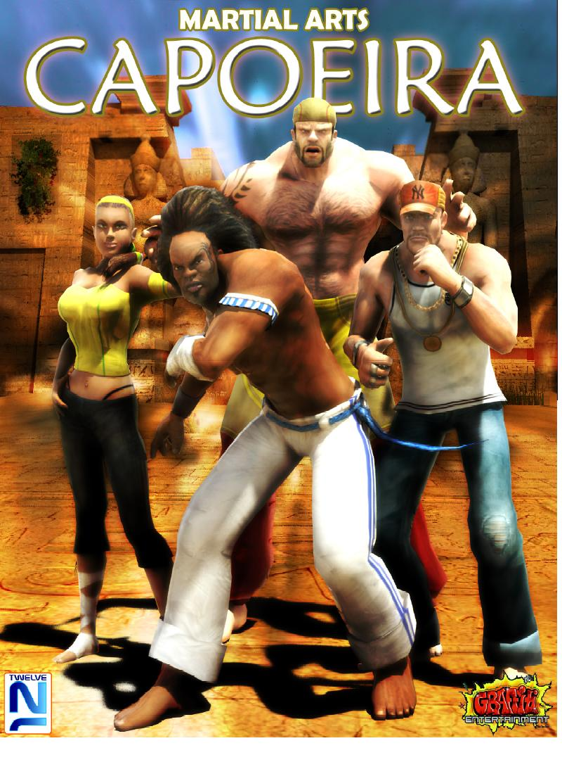 Martial Arts Capoeira Poster