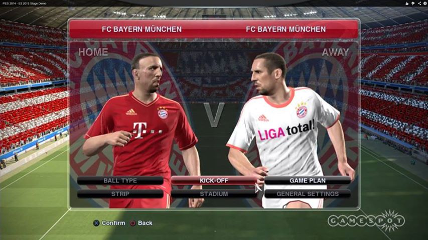 PES Pro Evolution Soccer 2014 Features