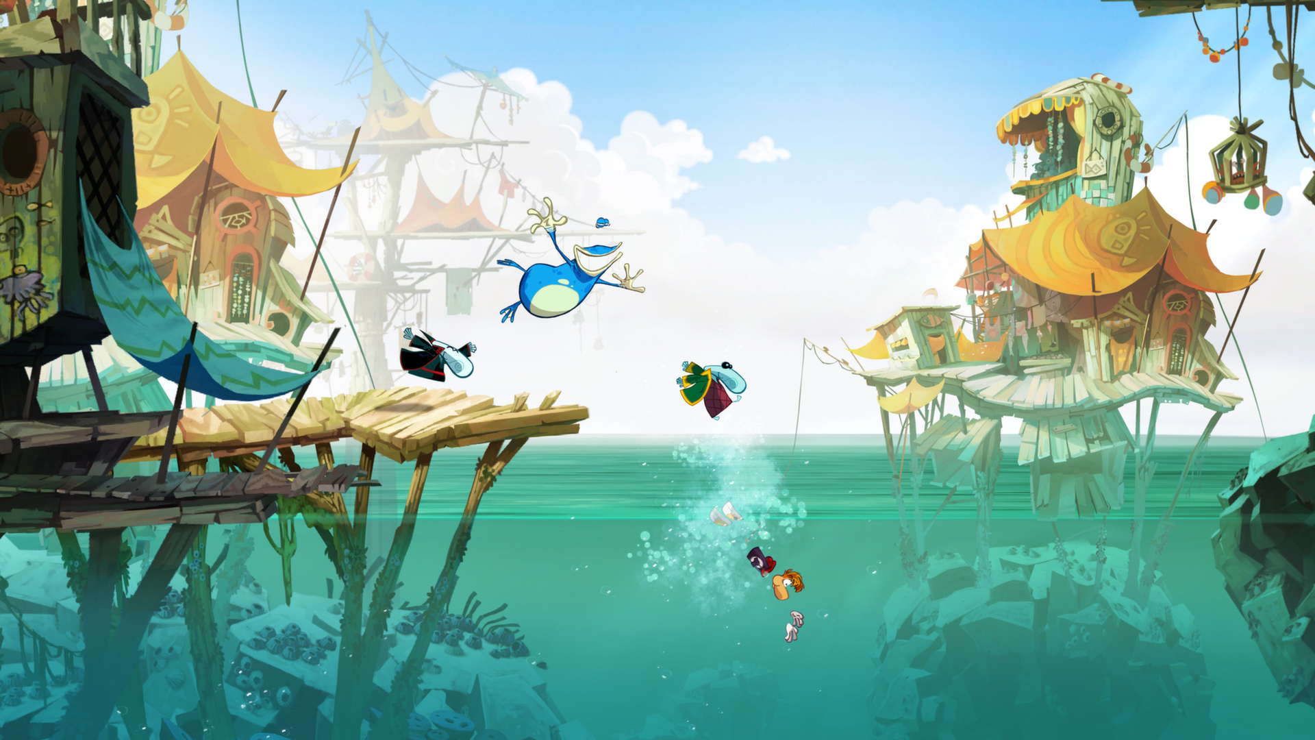 Rayman Origins  Features