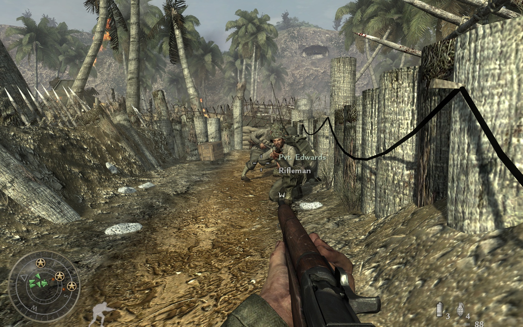 Call of Duty Worla at War Game Play