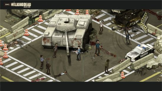 The Walking Dead 2012 Setup
