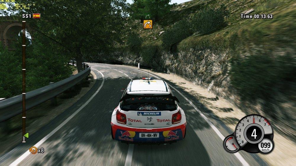 WRC 4 Racing game