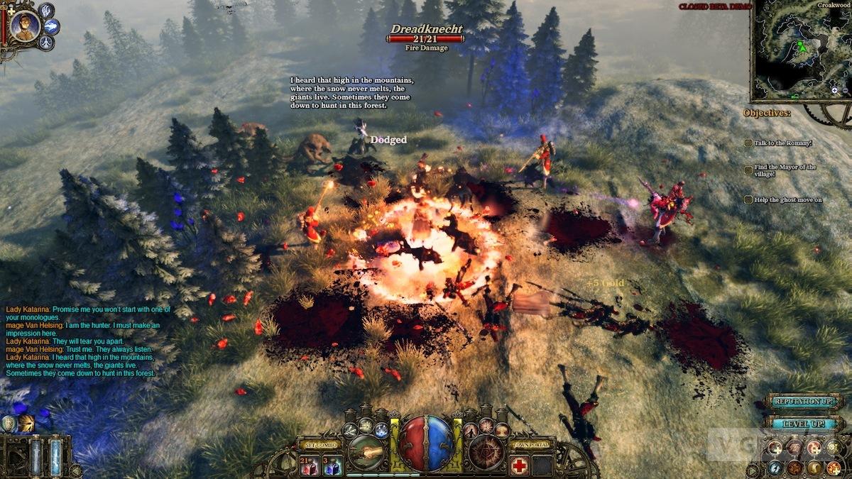 The Incredible Adventures Of Van Helsing Free Game Play