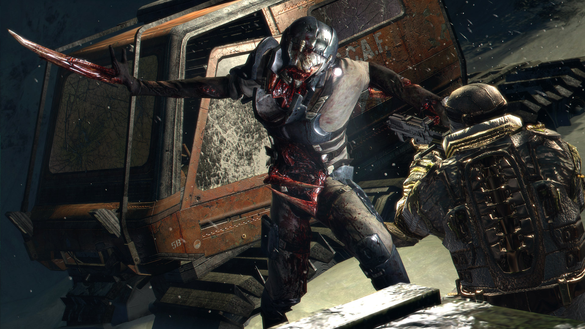 Dead Space 3 features