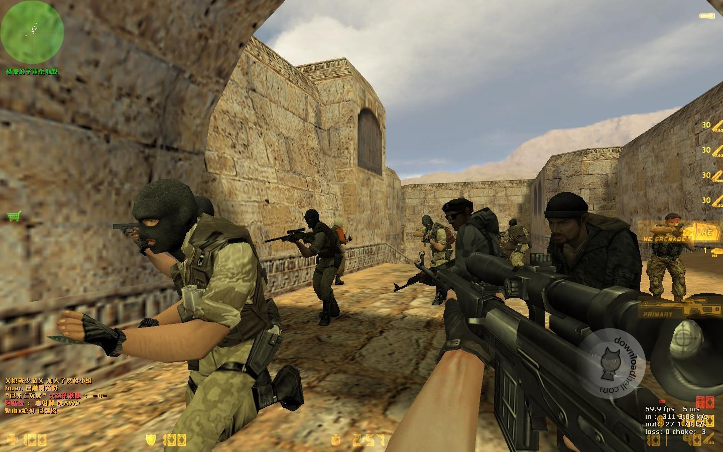 Download Free Counter Strike 1.6