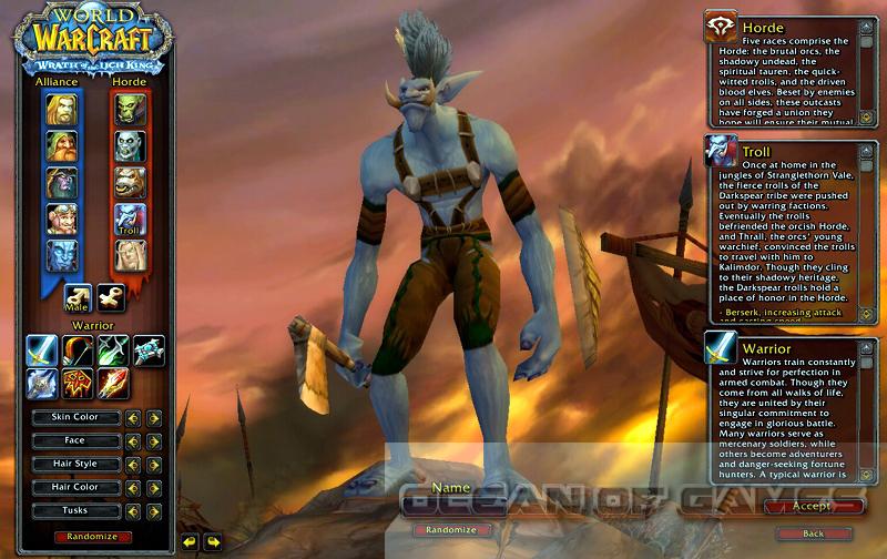 World of Warcraft Setup Download For Free