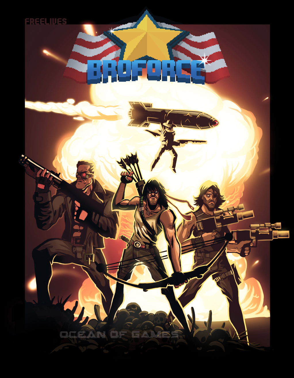 Broforce Free Download
