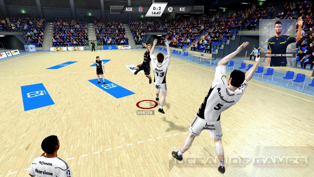 IHF Handball Challenge 12 Features