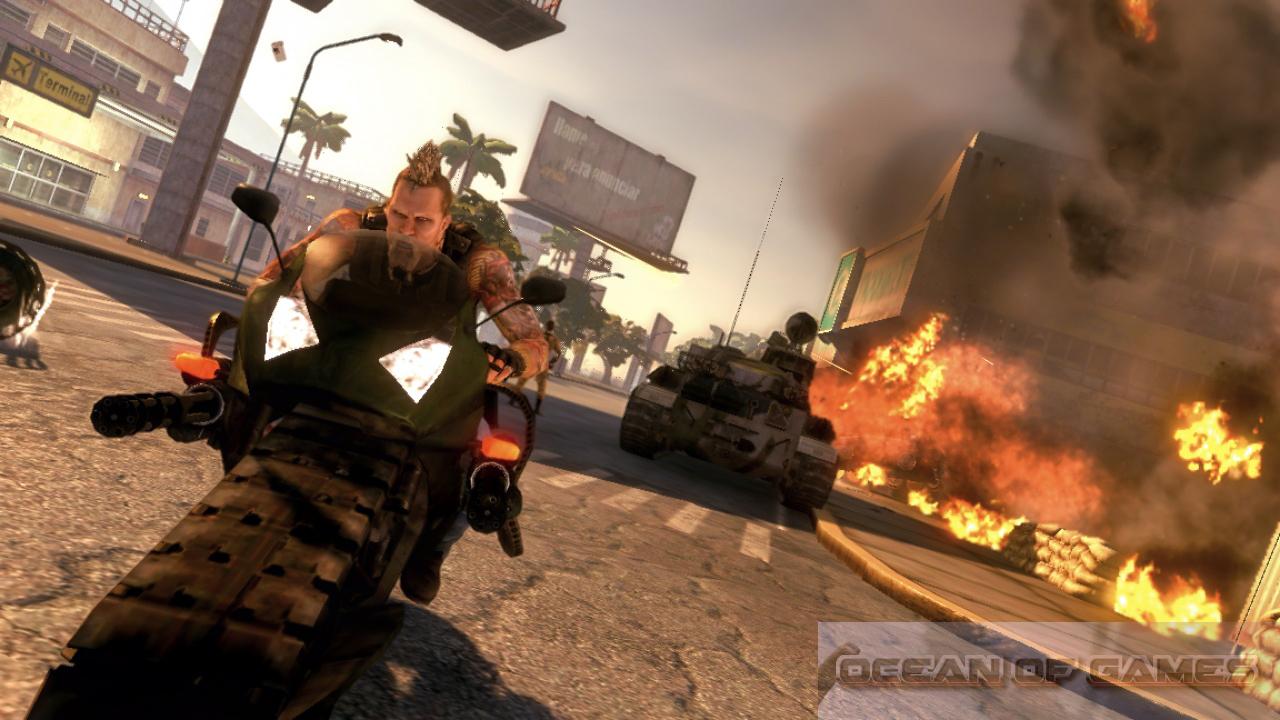 Mercenaries 2 World in Flames Features