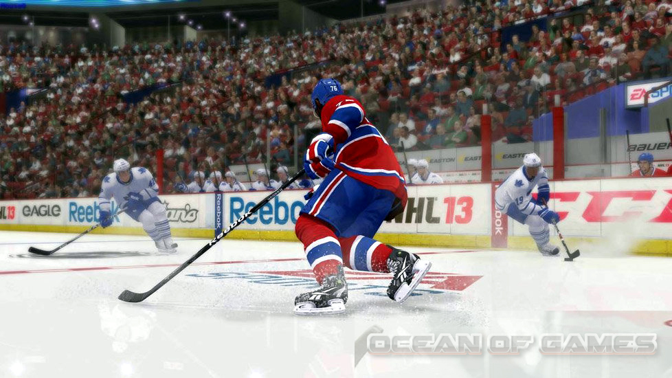 NHL 09 Features