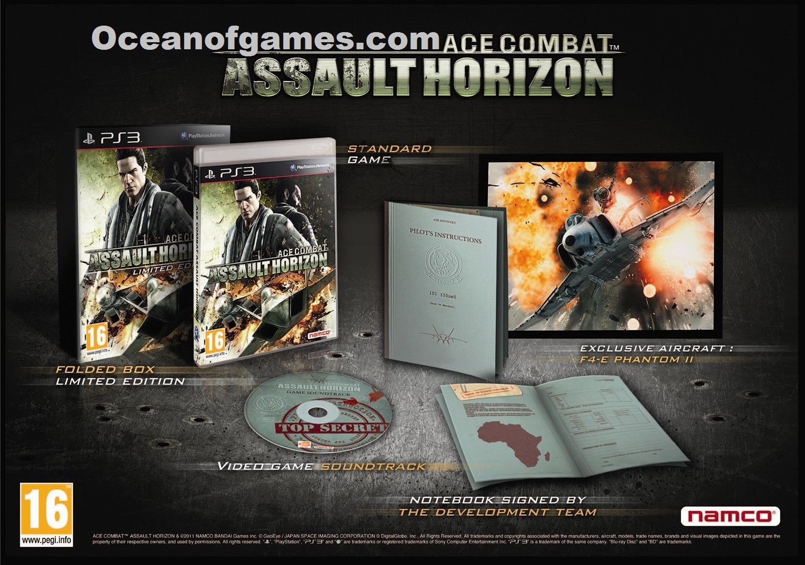 Ace Combat Assault Horizon Free Download