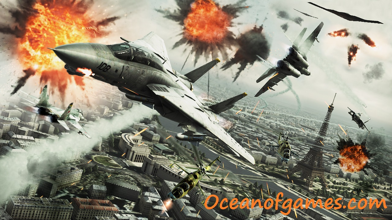 Ace Combat Assault Horizon PC Game