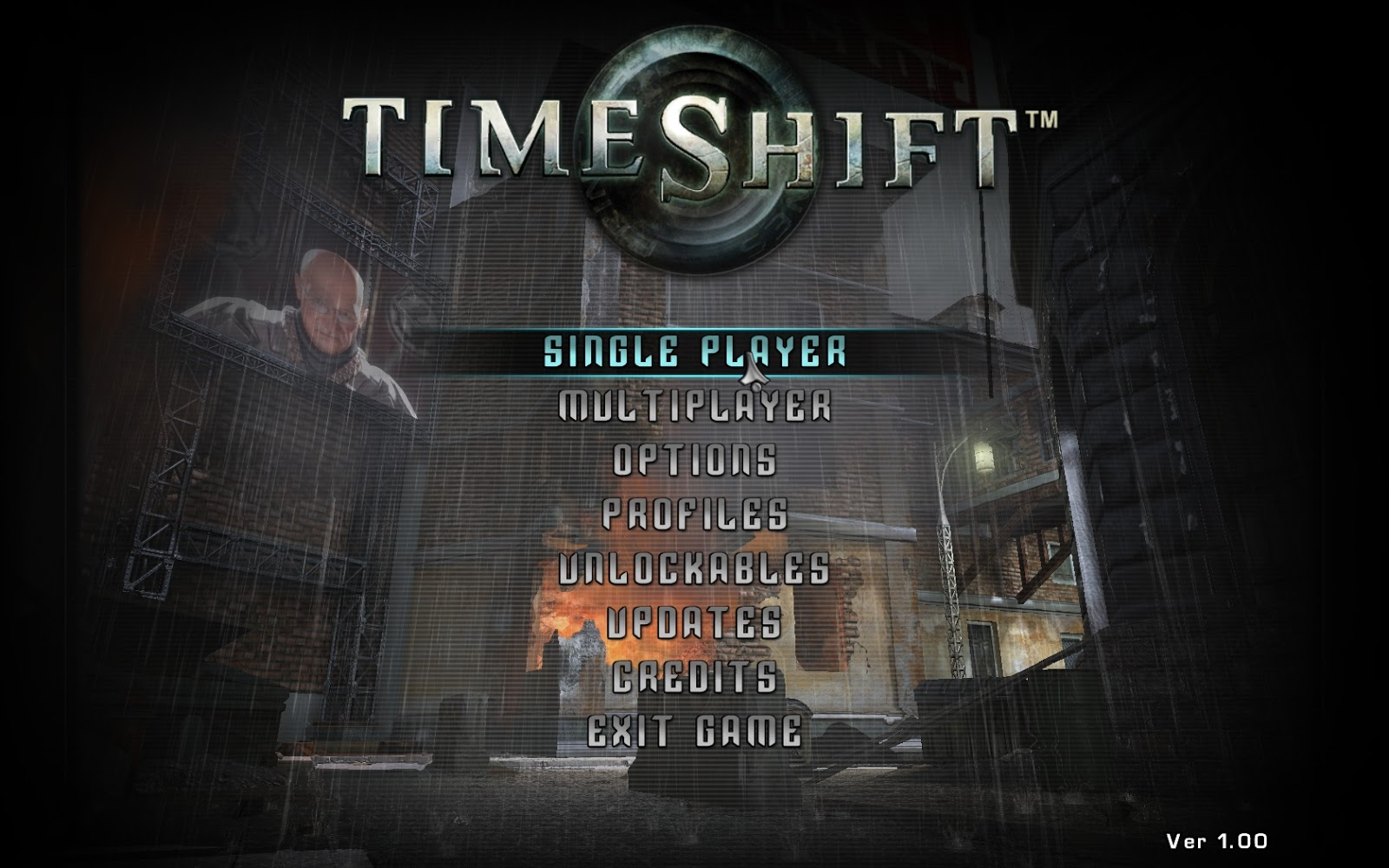 Time Shift PC Game Free Download
