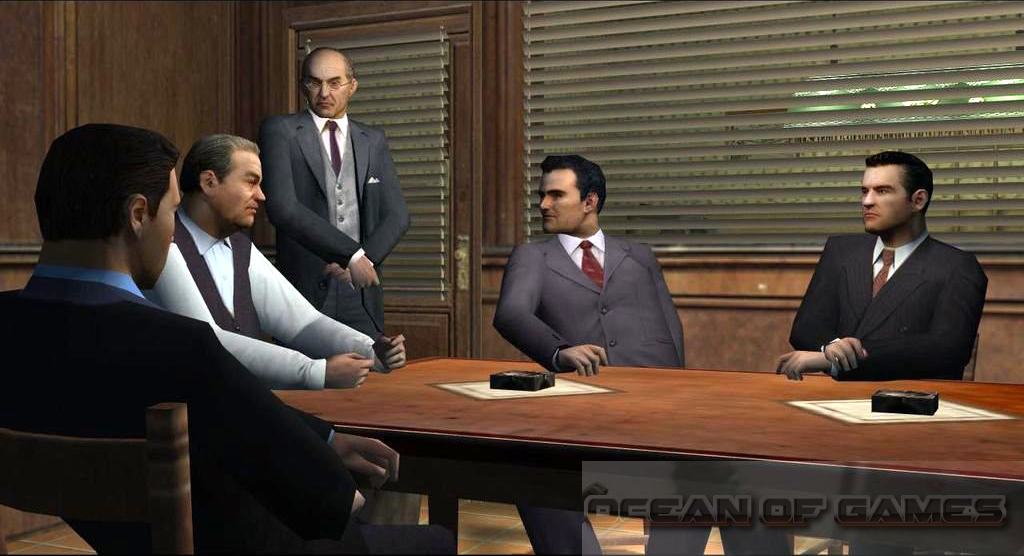 Mafia The City of Lost Heaven Features