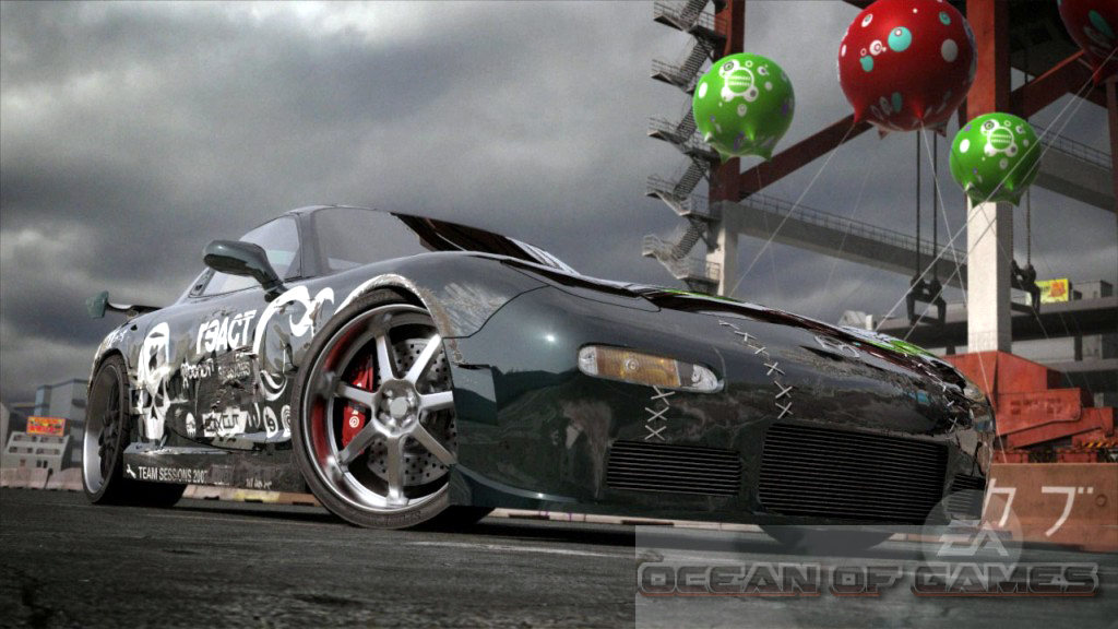 Need for Speed ProStreet Features
