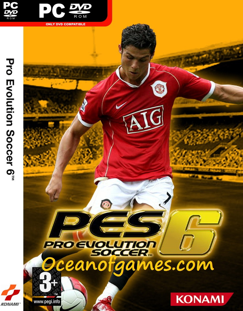 Pro Evolution Soccer 6 Free Download