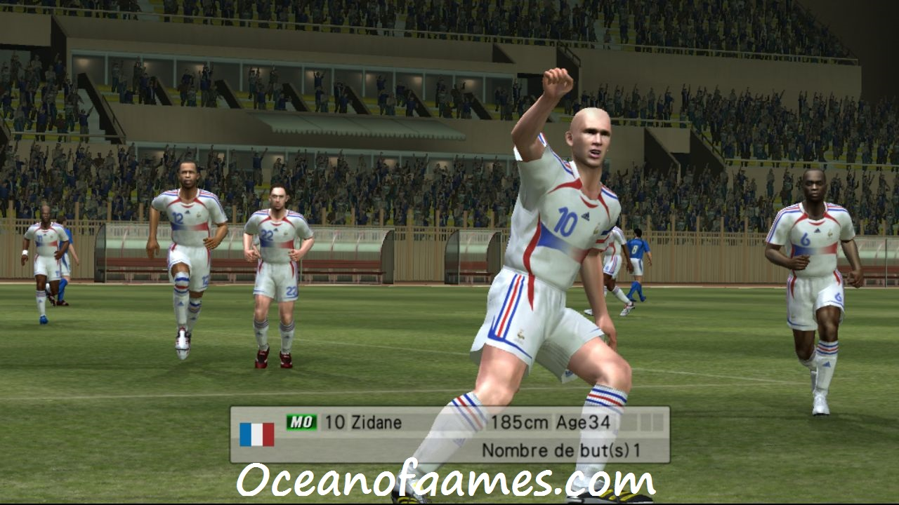 Pro Evolution Soccer 6 free