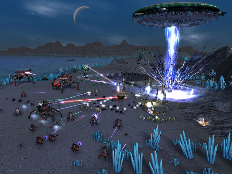 Download Free Supreme Commander Forged Alliance Game