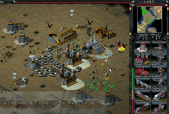 Command and Conquer Tiberian Sun Free Download