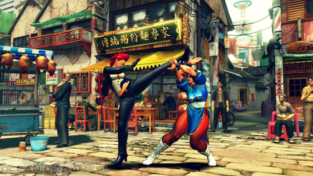 Street Fighter IV Features