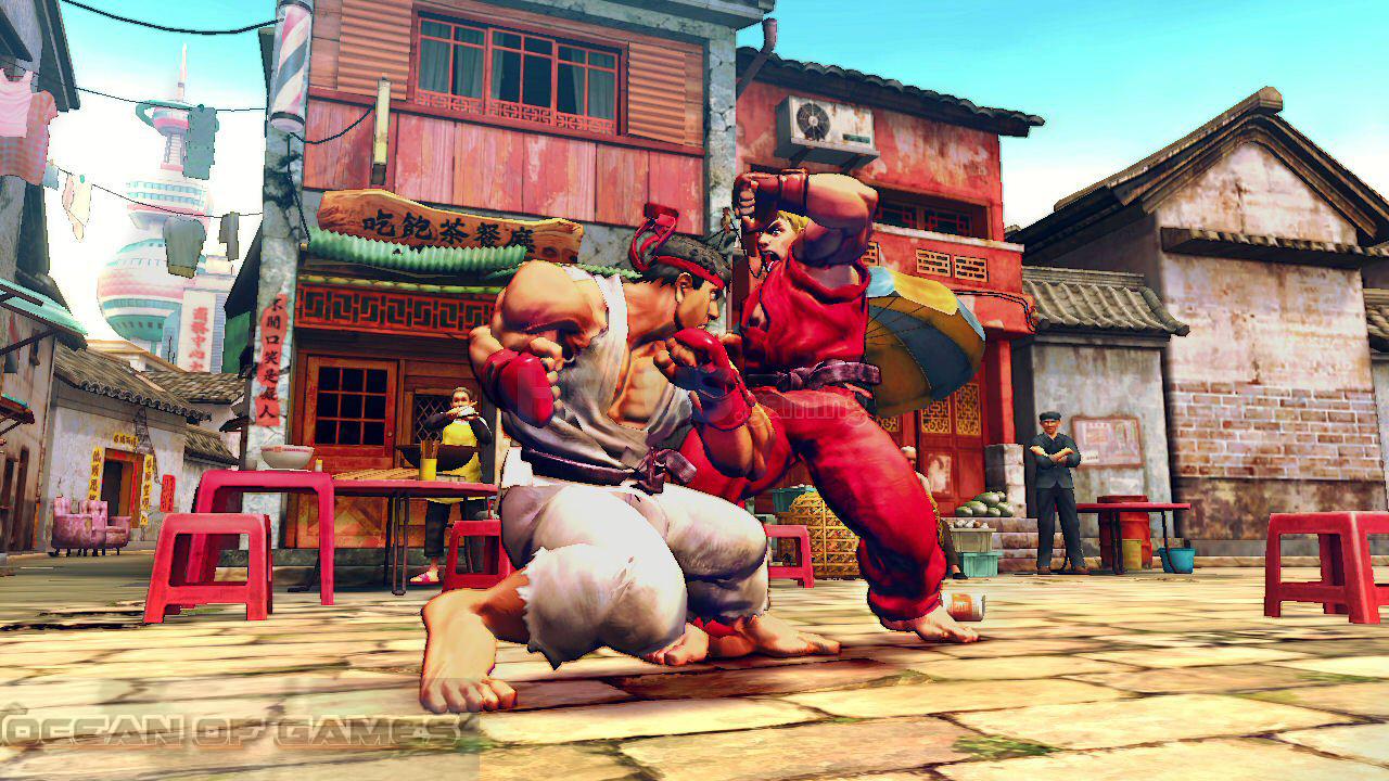 Street Fighter IV Setup Download For Free