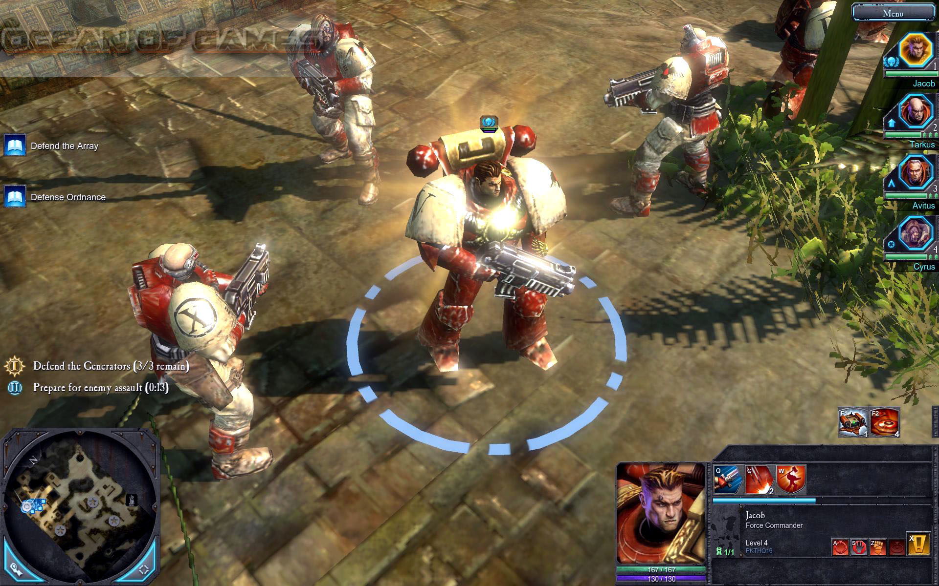 Warhammer 40k Dawn of War 2 Features