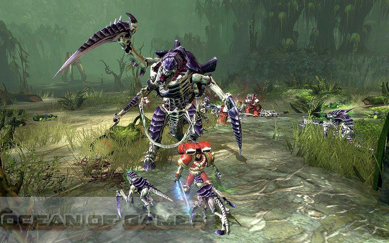 Warhammer 4000 Dawn of War 2 Setup Free Download