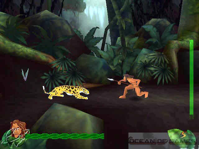 Tarzan PC Game Setup Free Download