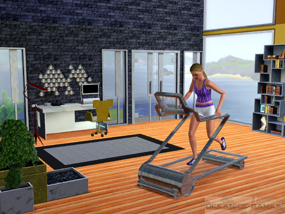 The Sims 3 High End Loft Stuff Features