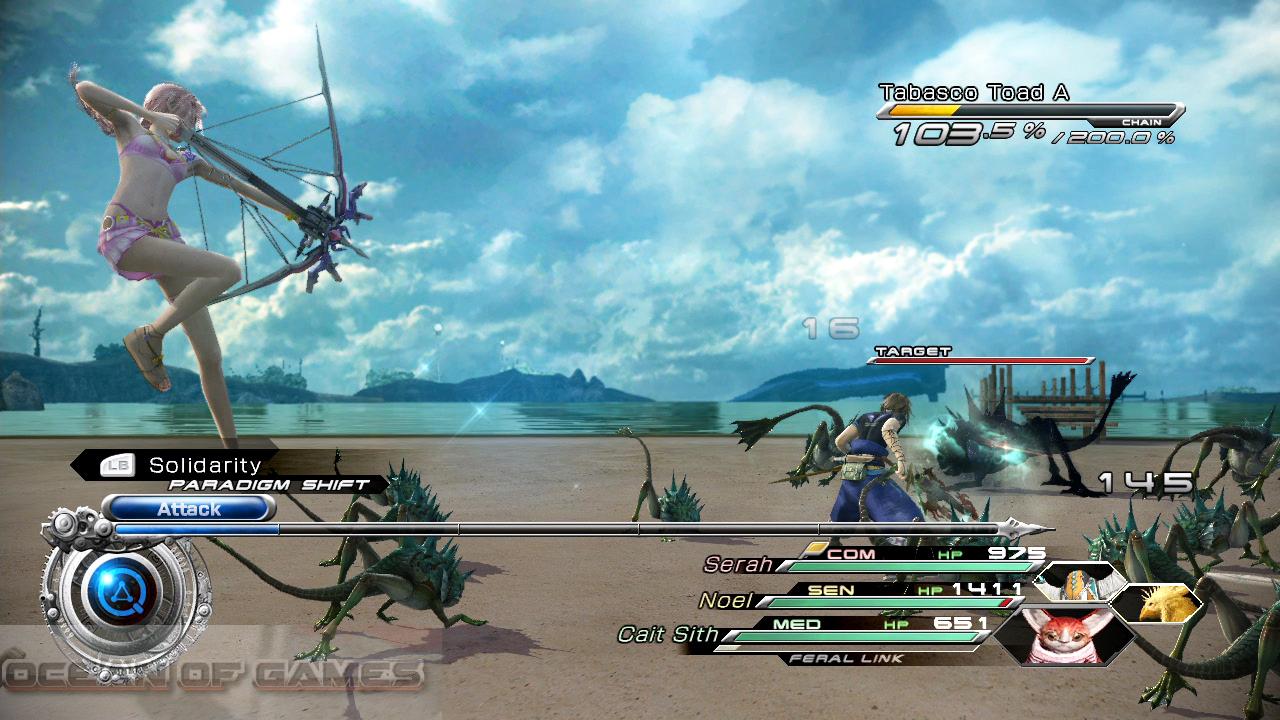 Final Fantasy XIII-2 Setup Download For Free