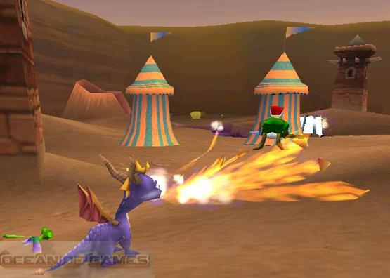 Spyro The Dragon 2 Features