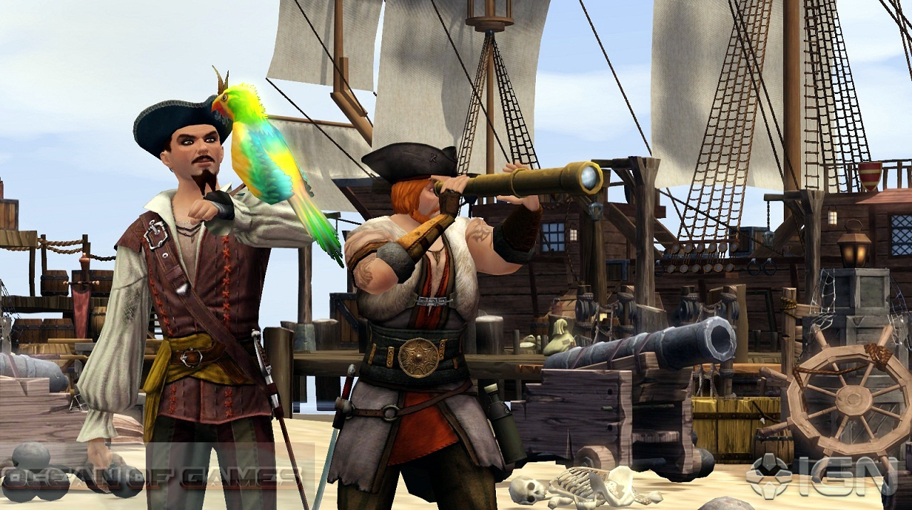 The Sims Medieval Pirates and Nobles Features