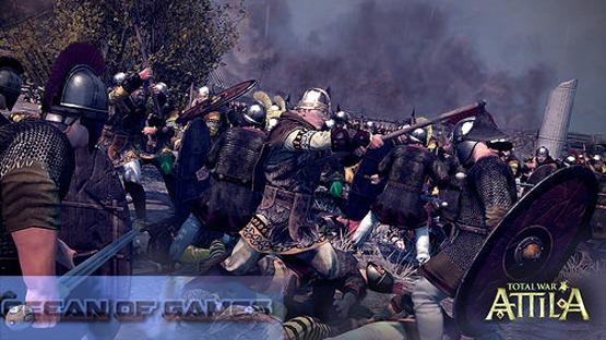 Total War Attila Features