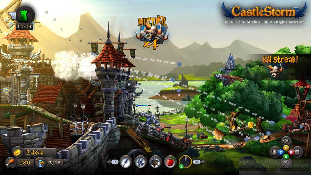 CastleStorm Features