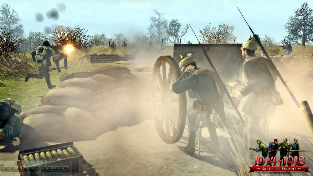 Battle of Empires 1914-1918 PC Game Features