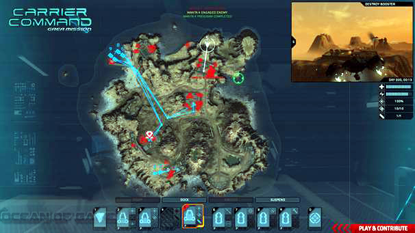 Carrier Command Gaea Mission Setup Free Download