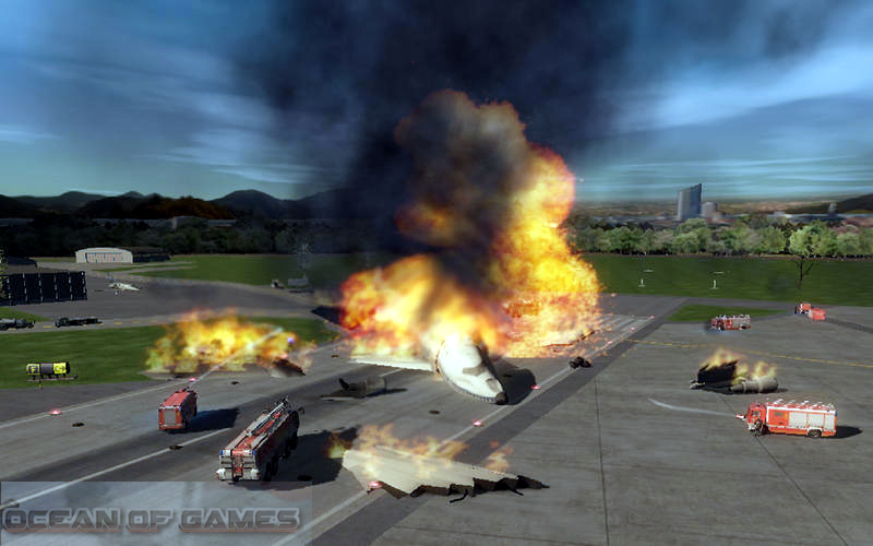Airport Firefighter Simulator Features