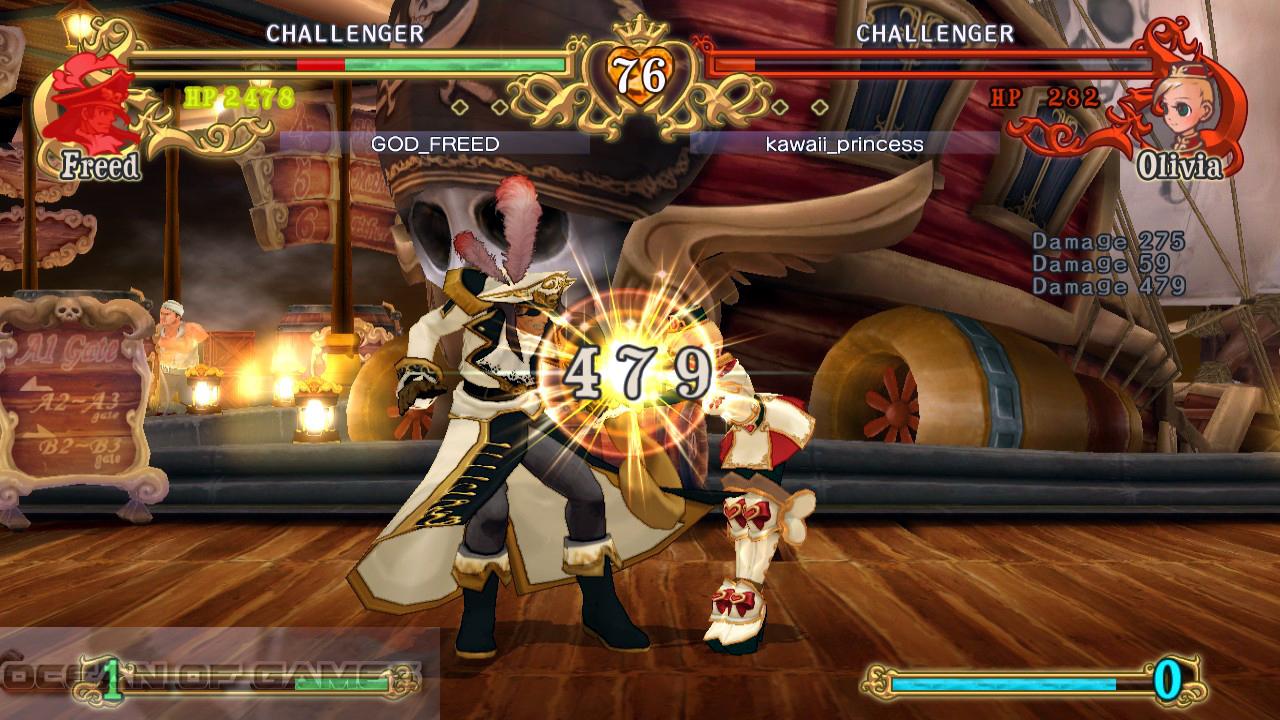 Battle Fantasia Features