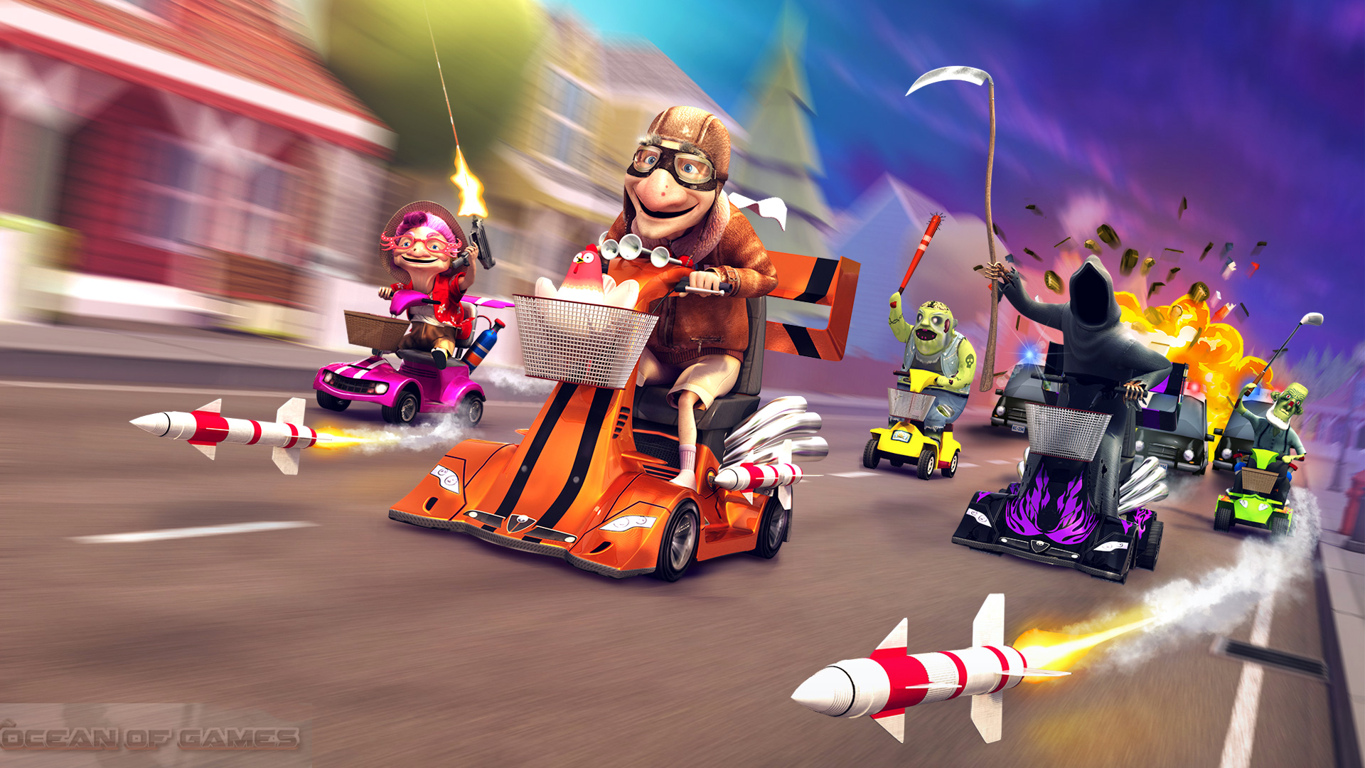 Coffin Dodgers Features