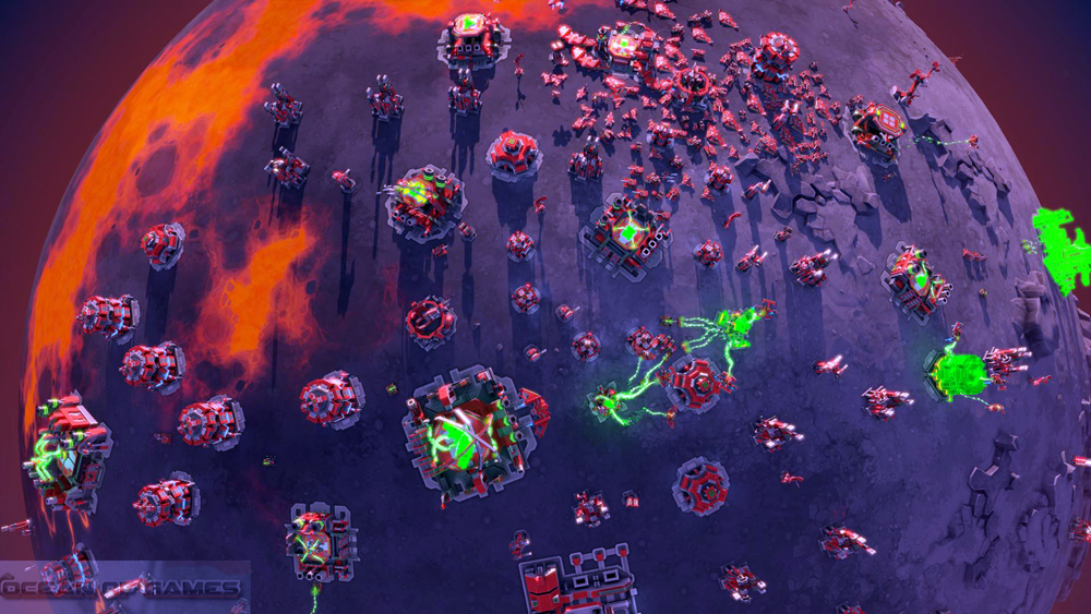 Planetary Annihilation Features