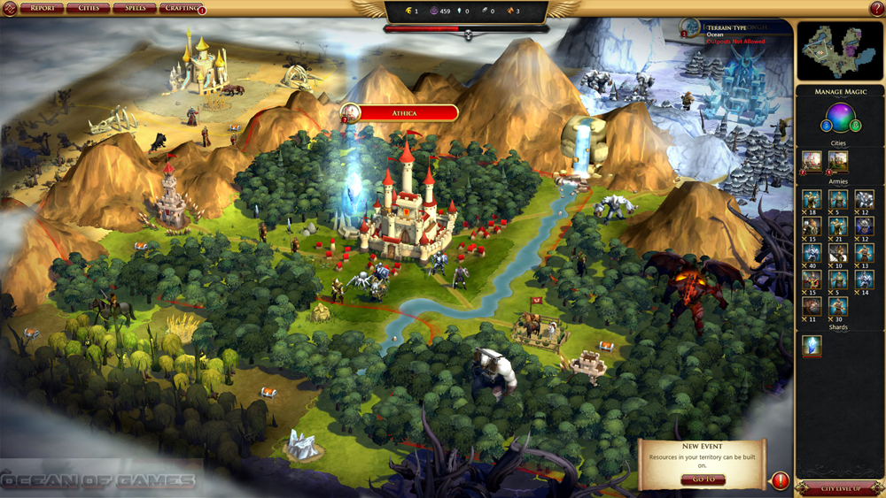 Sorcercer King Features