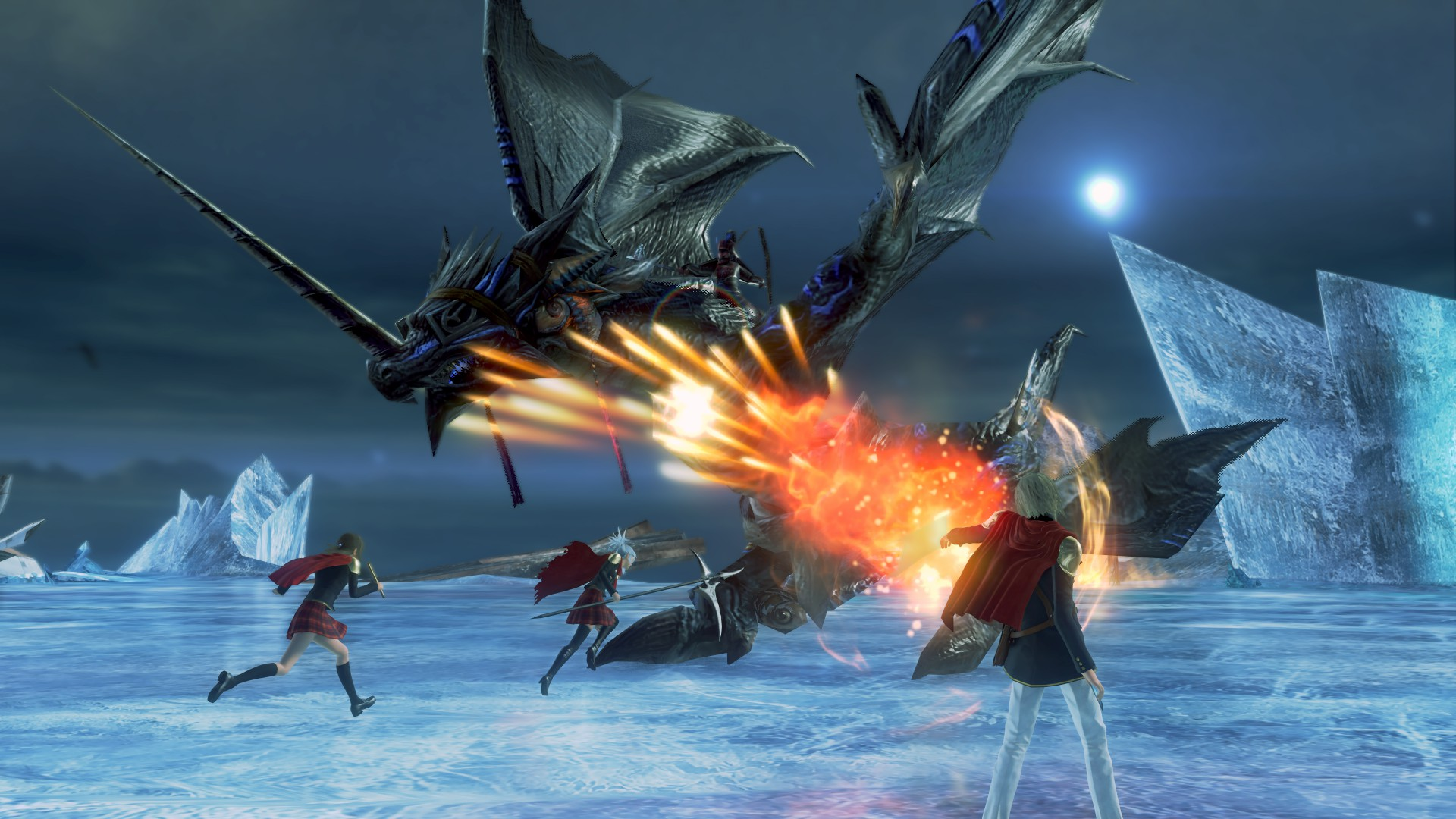 Final Fantasy Type 0 HD Features
