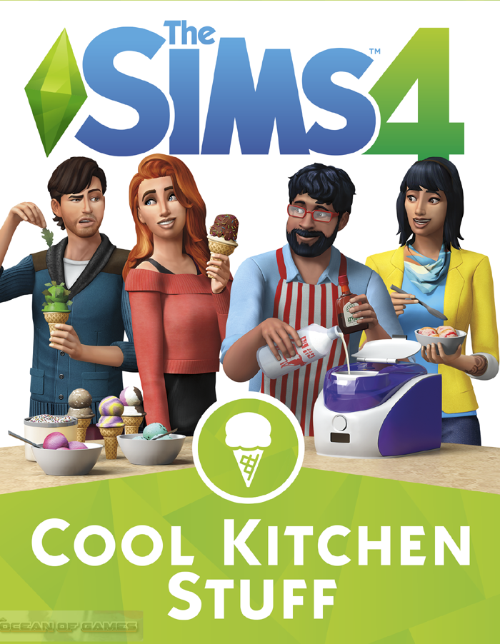 The Sims 4 Cool Kitchen Free Download