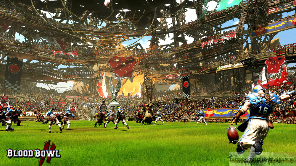 Blood Bowl 2 Features