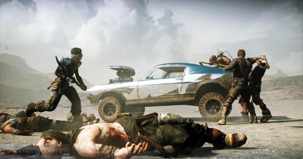 Mad Max PC Game Setup Free Download