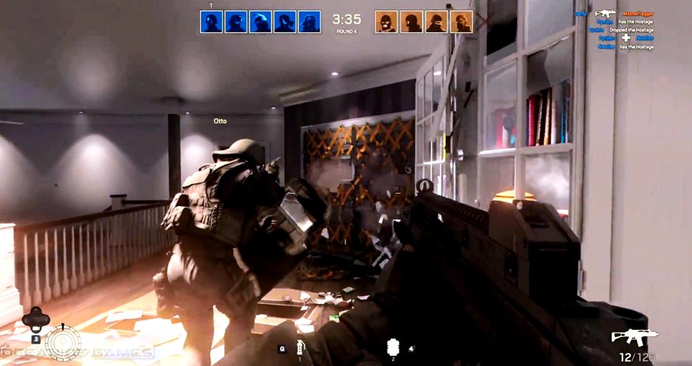 Tom Clancys Rainbow Six Siege Features